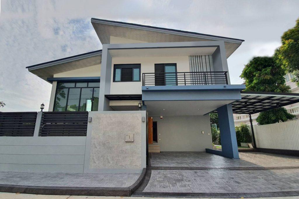 รับสร้างบ้านคุณภาพ แบบบ้าน 2 ชั้นศรีวรา (2)