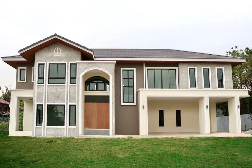 รับสร้างบ้านคุณภาพ แบบบ้าน 2 ชั้น B1686