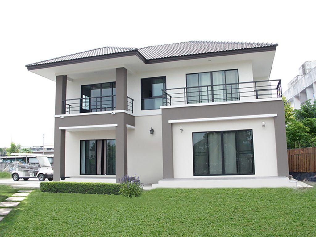 B1485 บิวท์ ทู บิวด์ รับสร้างบ้านคุณภาพ แบบบ้าน 2 ชั้น