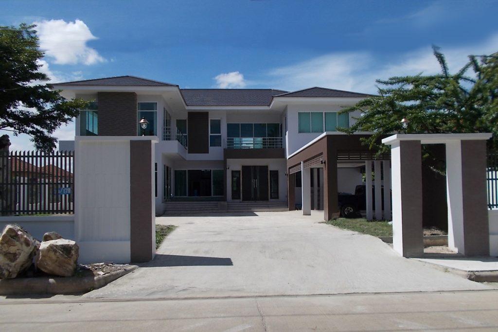 บริษัทรับสร้างบ้านคุณภาพ แบบบ้าน 2 ชั้น แบบบ้านสวย S0610_1