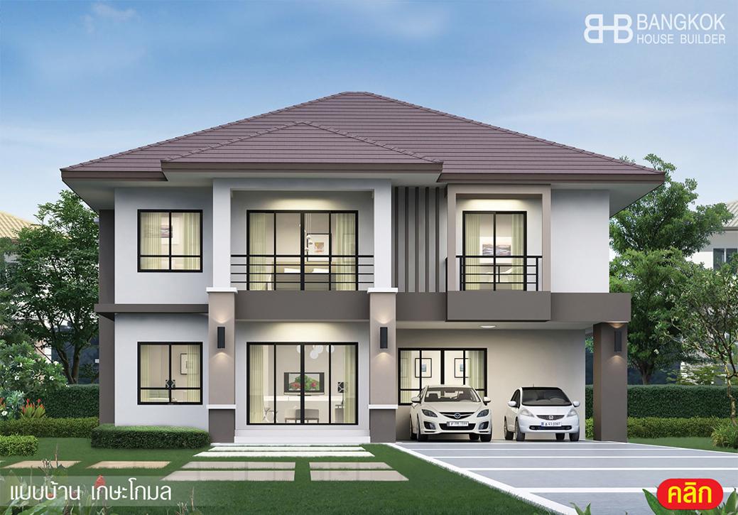 โปรโมชั่น ของกลุ่ม บิวท์ ทู บิวด์ รับสร้างบ้านคุณภาพ แบบบ้าน 2 ชั้น (1)